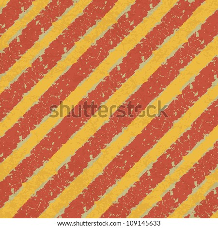 Yellow and Red Hazard Lines Abstract Background. Raster version, vector file available in portfolio - stock photo