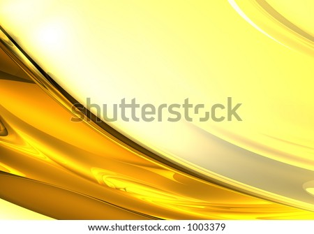 yellow background (abstract) - stock photo
