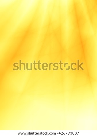 Yellow background abstract leaf unusual pattern - stock photo