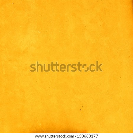 Yellow background wall texture - stock photo