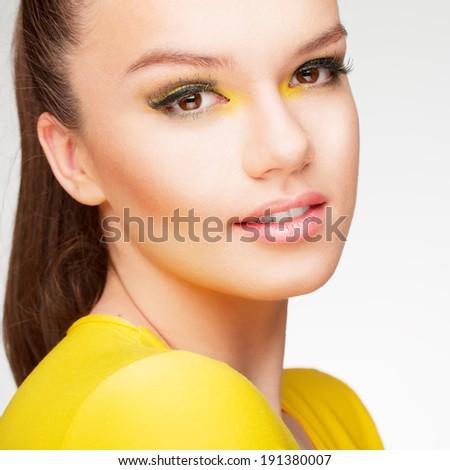 Yellow beauty - stock photo