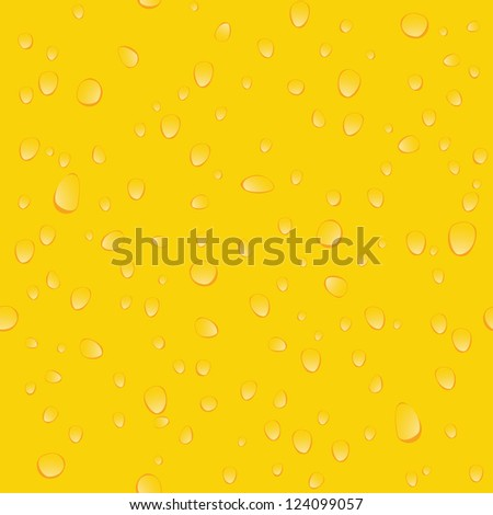 Yellow beer seamless background pattern - stock photo