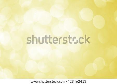 Yellow Bokeh Background ./ Yellow Bokeh Background  - stock photo