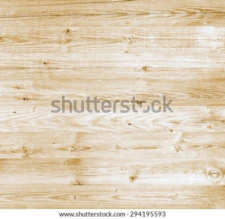 Yellow bright beautiful wood surface background - stock photo