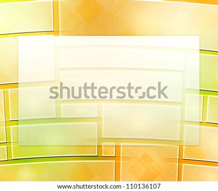Yellow Business Background Window - stock photo