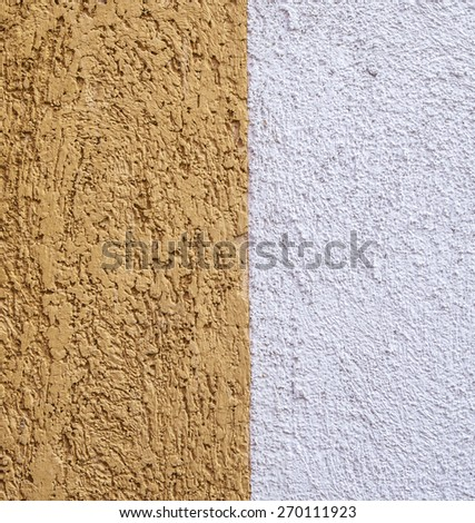 Yellow cement - stock photo