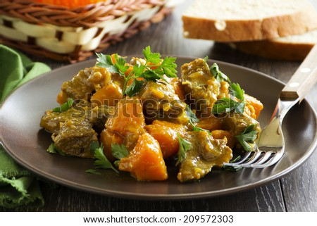 Jamaican Yellow Curry Yellow Curry With Pumpkin And