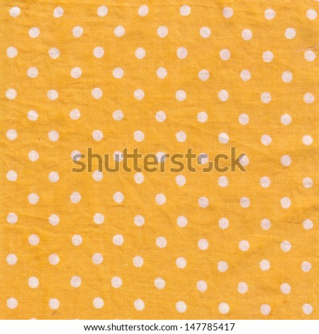 Yellow fabric background - stock photo