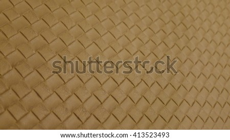 Yellow gold leather texture, Yellow gold leather bag, Yellow gold leather background for design with copy space for text or image. - stock photo