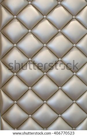 Yellow gold sofa texture background - stock photo