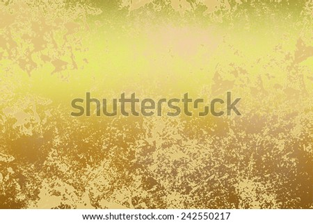 Yellow golden , abstract  background , with   painted  grunge background texture for  design . Concept  holiday, happiness , color in light . - stock photo