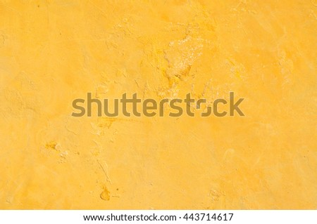 Yellow grunge texture for background - stock photo