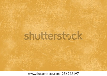 Yellow grunge texture showing wall in Mediterranean style - stock photo