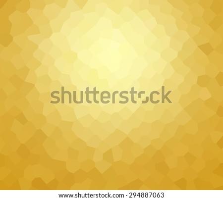 yellow mosaic - stock photo