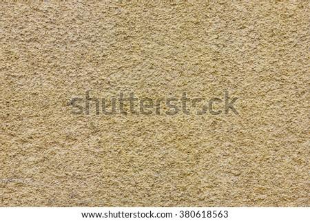 yellow seamless stucco texture - stock photo