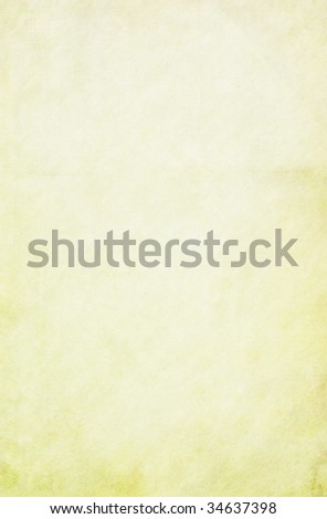 Yellow stained vintage background. Copy-space. - stock photo