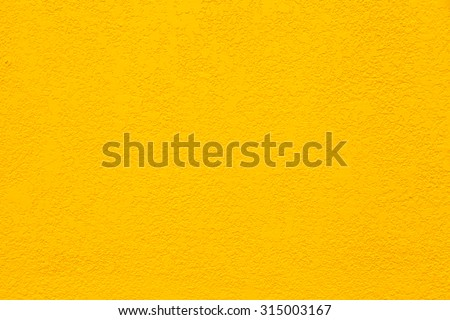 Yellow Wall Background - stock photo