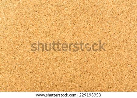 yellow wood cork board texture - stock photo