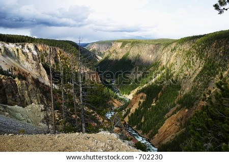 Yellowstone National Park, USA - stock photo