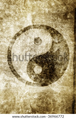 Yin Yang - stock photo