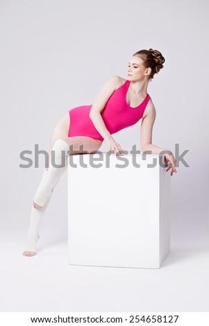 yoga poses - stock photo