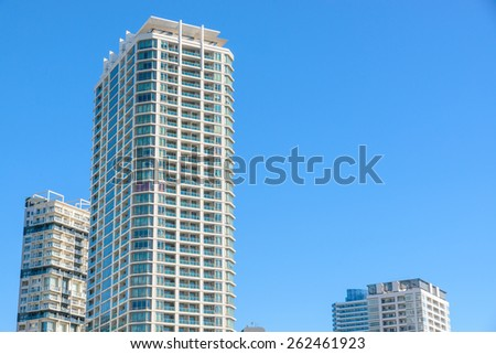 yokohama building - stock photo