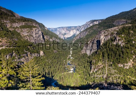 Yosemite National Park - stock photo