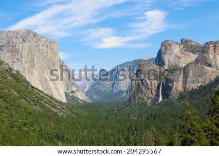 Yosemite National Park, California. - stock photo