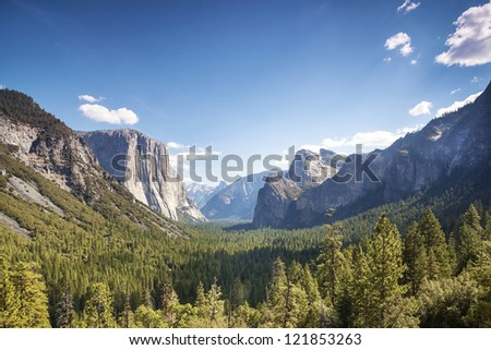 Yosemite Valley, Yosemite National Park, California, USA - stock photo