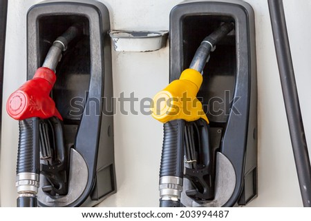 you can drive an car whitout an fuel pump - stock photo