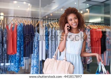 You just have to meet me at the shopping mall - stock photo