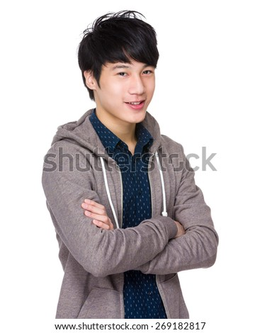 Young asian male  - stock photo