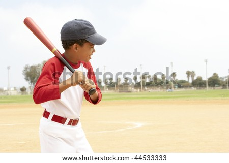 Young Boys In Football Team - stock photo