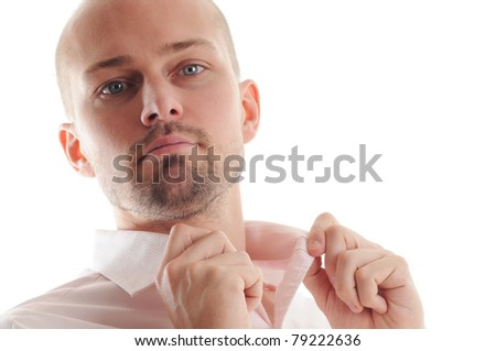 Young Business Man - stock photo