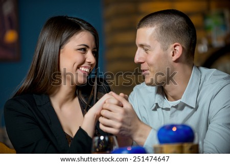 young couple in love/young couple in love - stock photo