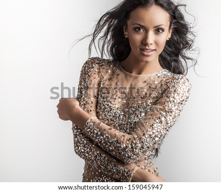Young fashionable & beauty woman.  - stock photo