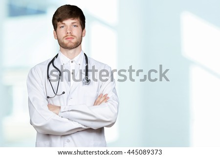 young medical doctor - stock photo