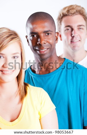 young people diversity - stock photo