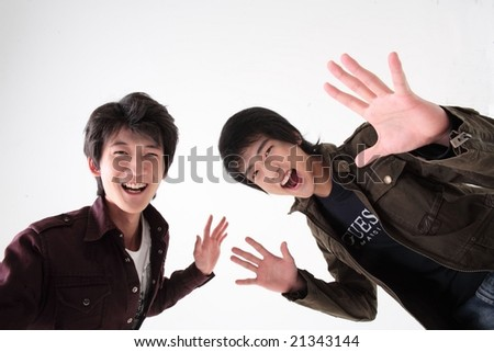 Young Teenagers - stock photo