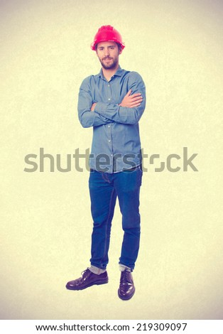 young worker - stock photo