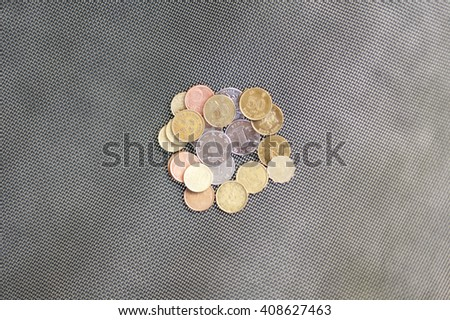 Yuan and Euro, Chinese and Europian currency, money - stock photo