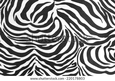 zebra print useful as a background  - stock photo