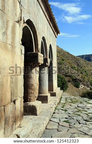 Zemo Vardzia Monastery - stock photo