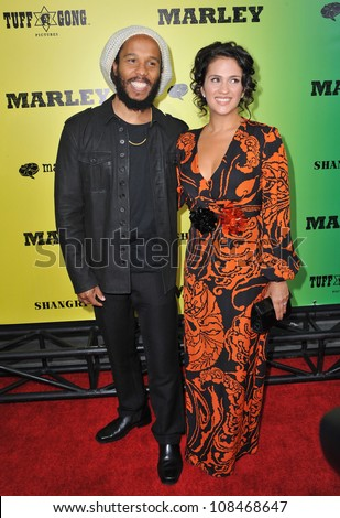 Ziggy Marley And Wife