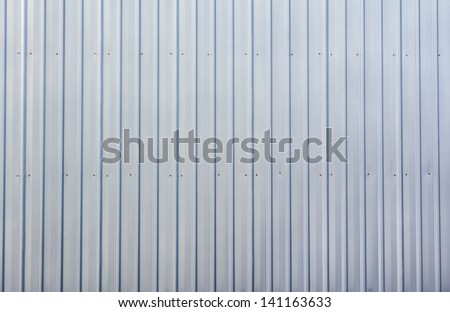 Zinc backgroung - stock photo
