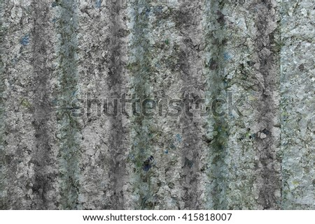 Zinc old metal wall background - stock photo