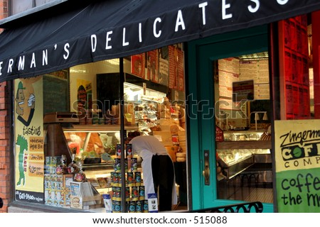 Zingerman's Delicatessen in Ann Arbor, Michigan - stock photo
