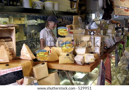 Zingerman's Delicatessen in Ann Arbor, Michigan - stock photo