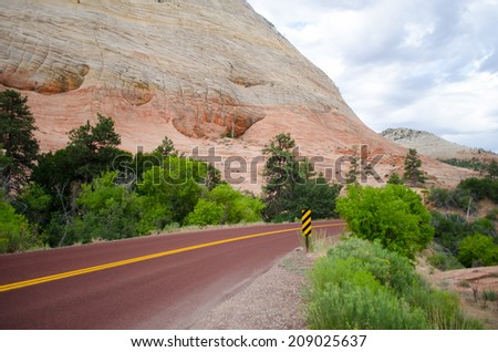 Zion National Park - stock photo