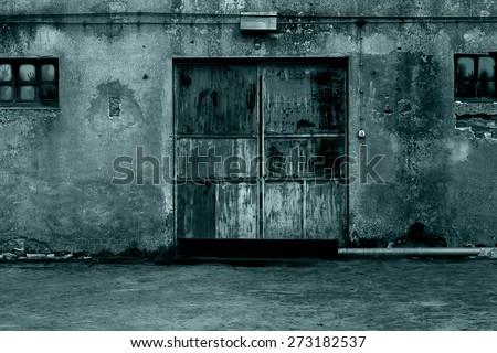 Zombies in quarantine - stock photo